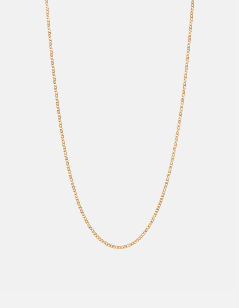 Miansai - 2mm Chain Necklace, 14k Gold
