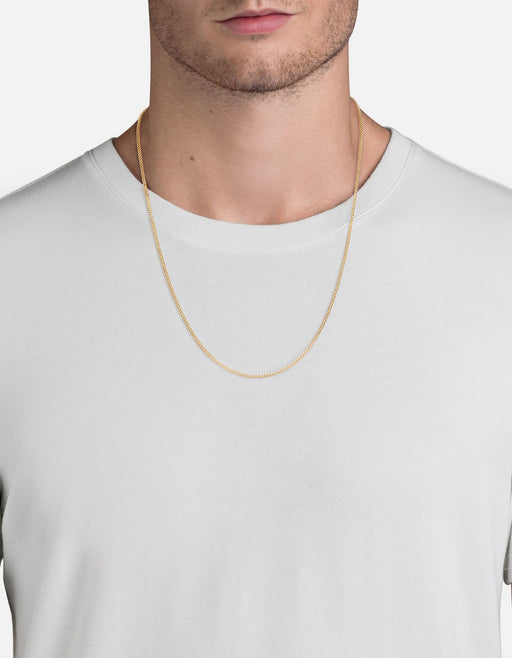 Miansai - 2mm Chain Necklace, Gold