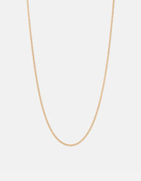 2mm Chain Necklace, Gold | Men's Necklace | Miansai