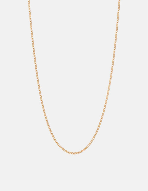 Miansai - 2mm Cuban Chain Necklace, Gold