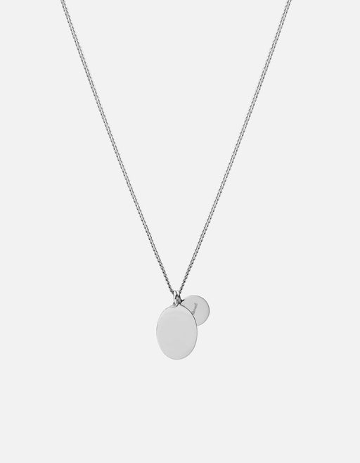 Miansai - Mini Dove Pendant Necklace, Silver/Blue