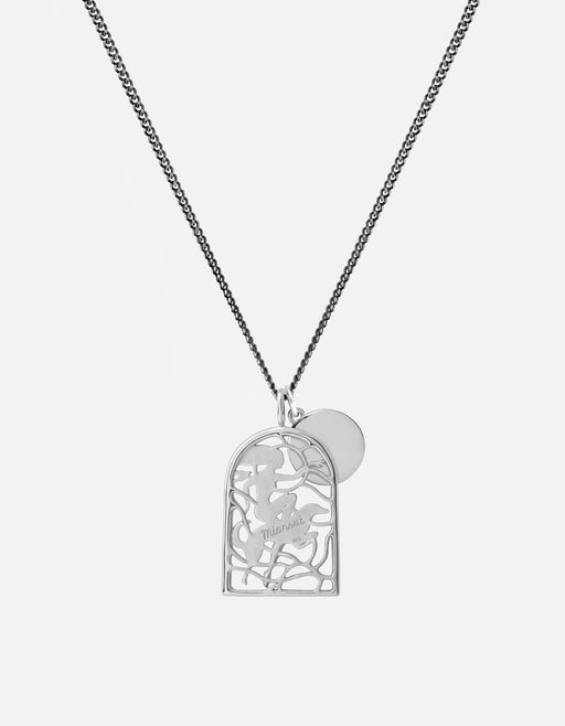 Miansai - Rider Pendant Necklace, Sterling Silver