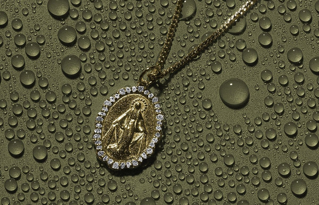 Women's Necklaces - The Mini Saints Necklace