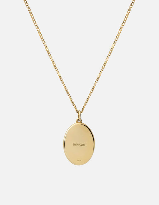 Argyle Pearl Pendant Necklace w/Enamel, Gold Vermeil, Polished | Women's Necklaces | Miansai