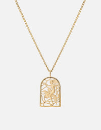 Rider Pendant Necklace, Gold Vermeil, Polished | Women's Necklaces | Miansai