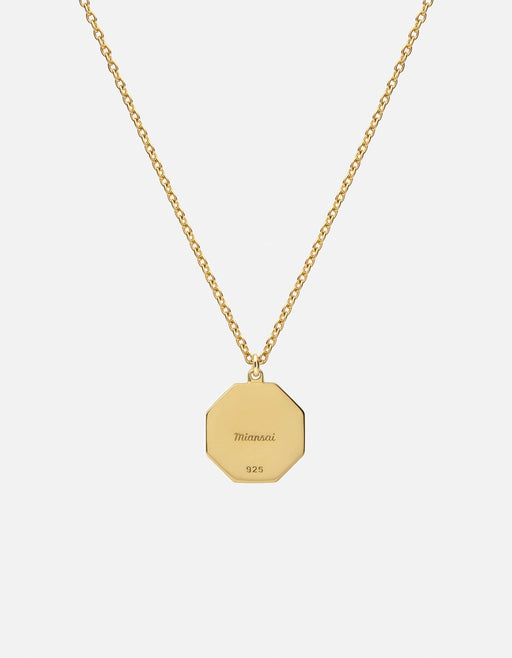 Miansai - Faceless King Necklace, Gold Vermeil