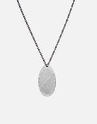 Miansai - IAMGALLA Penny Chain Necklace, Sterling Silver