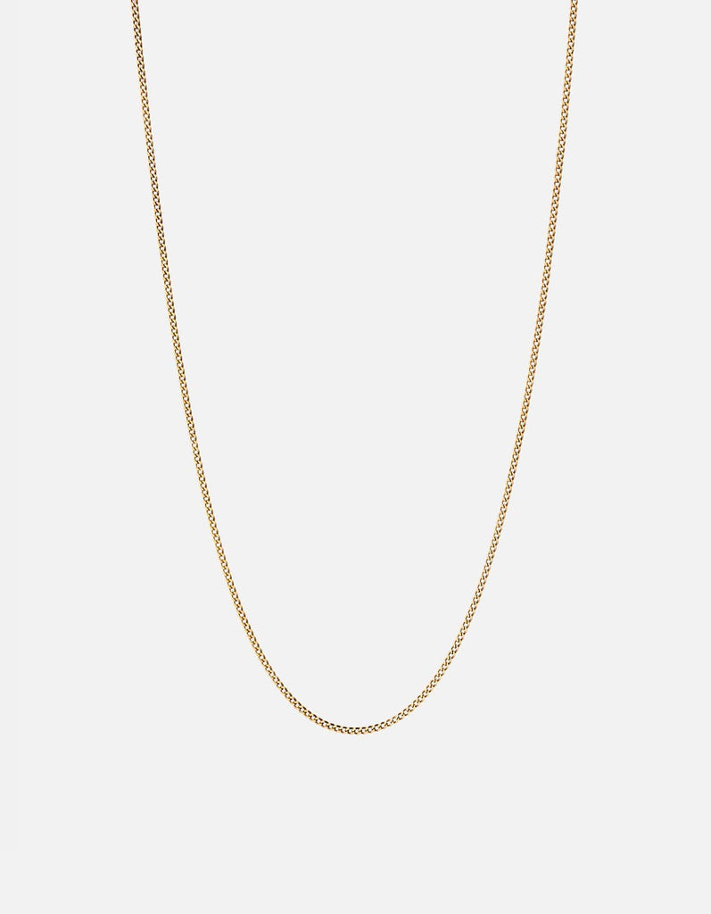 Miansai - 1.3mm Cuban Chain Necklace, Gold Vermeil