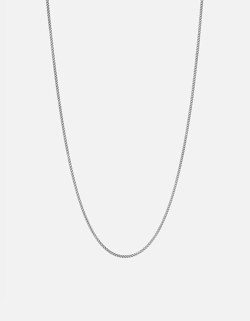 Miansai - 1.3mm Chain Necklace, Sterling Silver