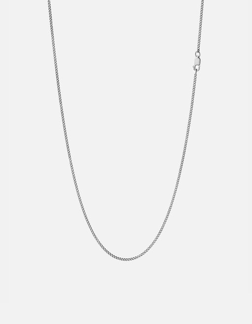 Miansai - 1.3mm Cuban Chain Necklace, Sterling Silver
