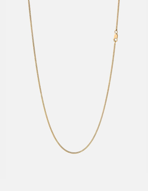 Miansai - 1.3mm Cuban Chain Necklace, 14K Gold