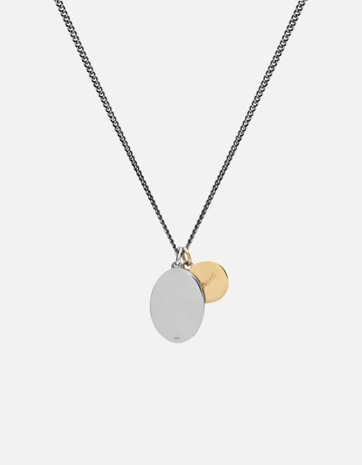 Miansai - Mini Dove Necklace, Sterling Silver/Gold