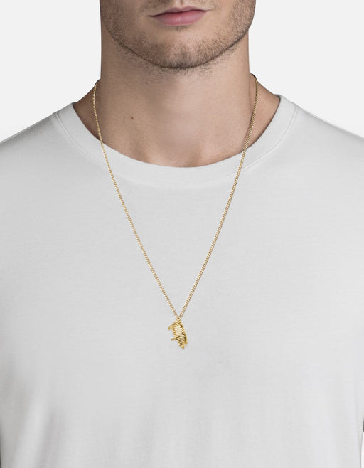 The Little Piggy Pendant Necklace, Gold Vermeil | Men's Necklaces | Miansai