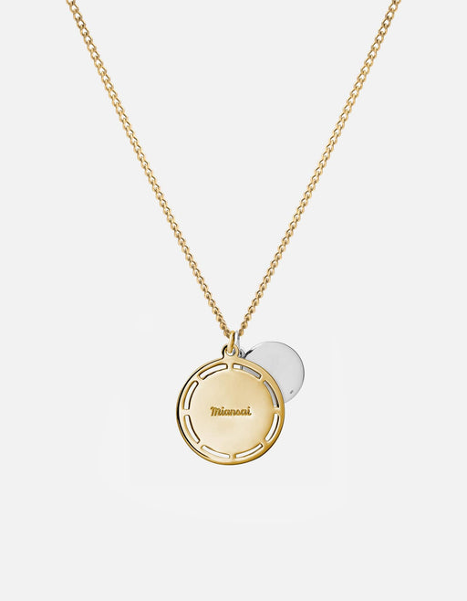 Miansai - Test of Time Necklace, 14k Gold/Sterling Silver