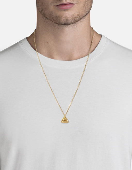 Miansai - Number Two Necklace, 14k Gold/Pavé