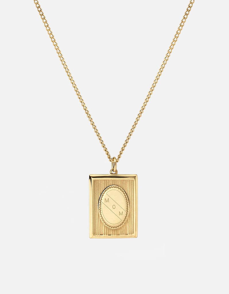 Got It From My Momma Pendant, 14k Gold | Women's Necklaces | Miansai
