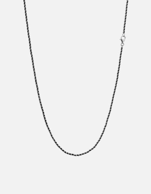 Miansai - 2mm Woven Chain Necklace, Sterling Silver