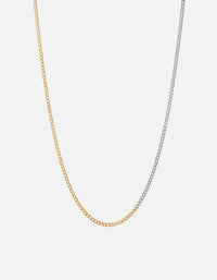 3mm Chain, Matte Oxidized/Polished Gold | Men's Necklaces | Miansai