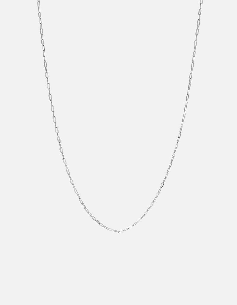 Miansai - 1.7mm Cable Chain Necklace, Sterling Silver