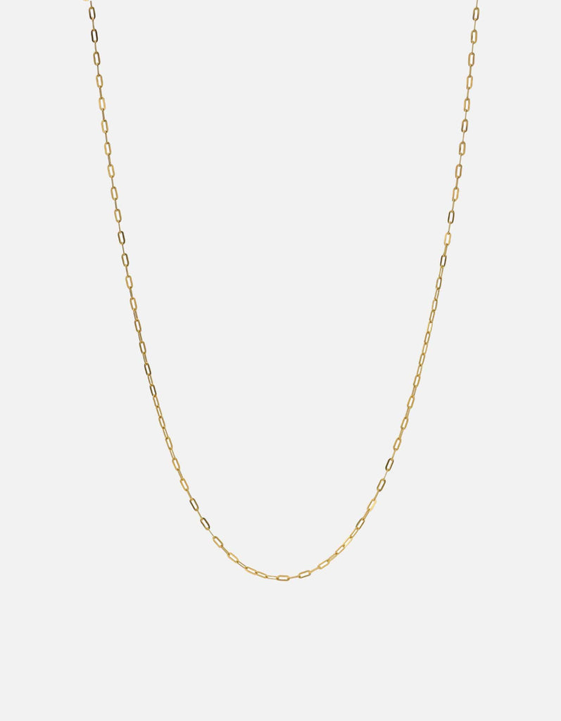1.7mm Cable Chain, Gold Vermeil | Men's Necklaces | Miansai