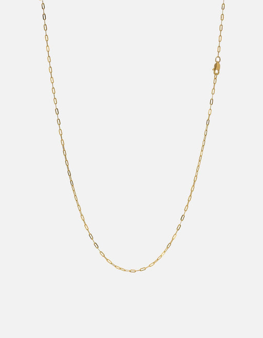 1.7mm Cable Chain, Gold Vermeil | Women's Necklaces | Miansai