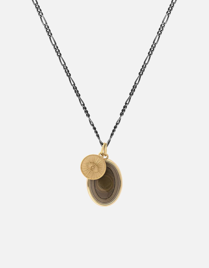 Miansai - Velocity Pendant Necklace, Gold Vermeil