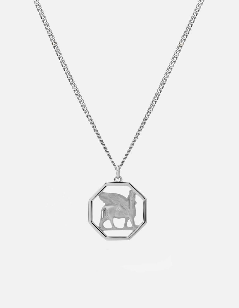 Lamassu Pendant Necklace, Sterling Silver | Men's Necklaces | Miansai
