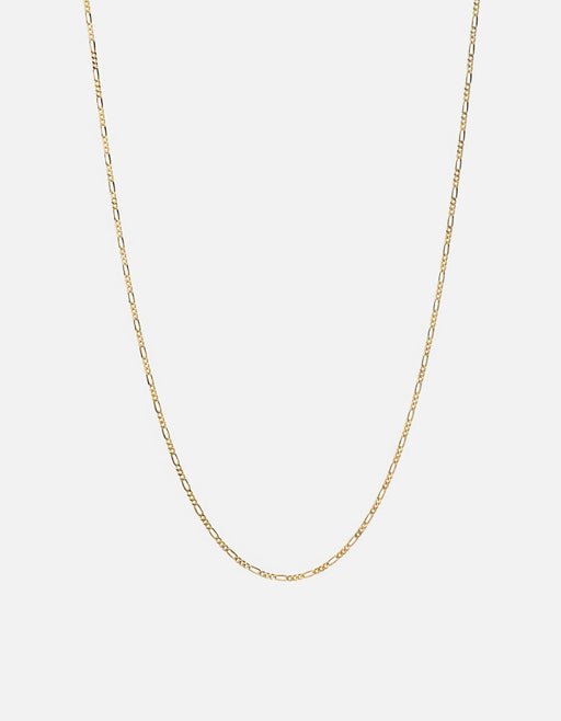 Figaro Chain Necklace, Gold Vermeil, Polished Gold - Miansai