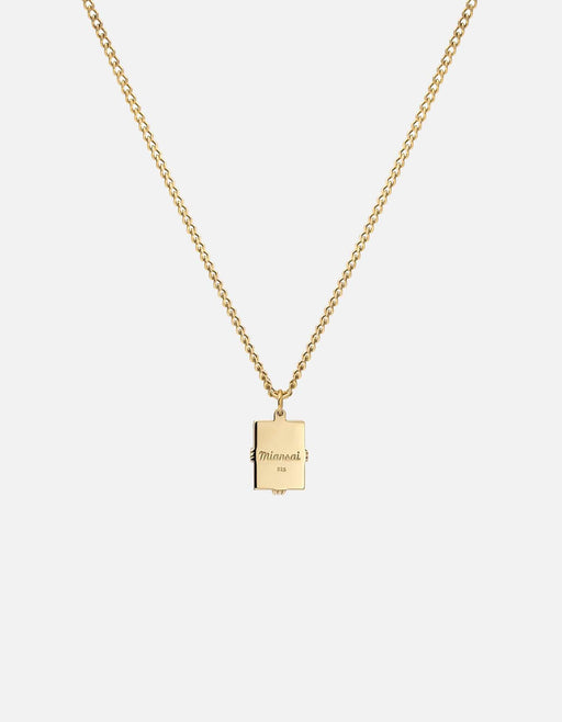 Lennox Amethyst Necklace, Gold Vermeil/Smoky | Women's Necklaces | Miansai