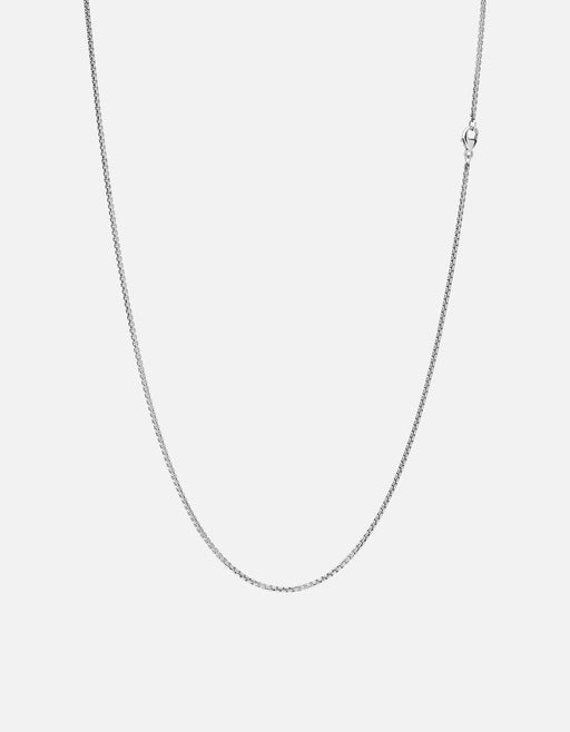 Venetian Chain Necklace, Sterling Silver