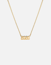 Numero Necklace, 14k Gold | Men's Necklaces | Miansai