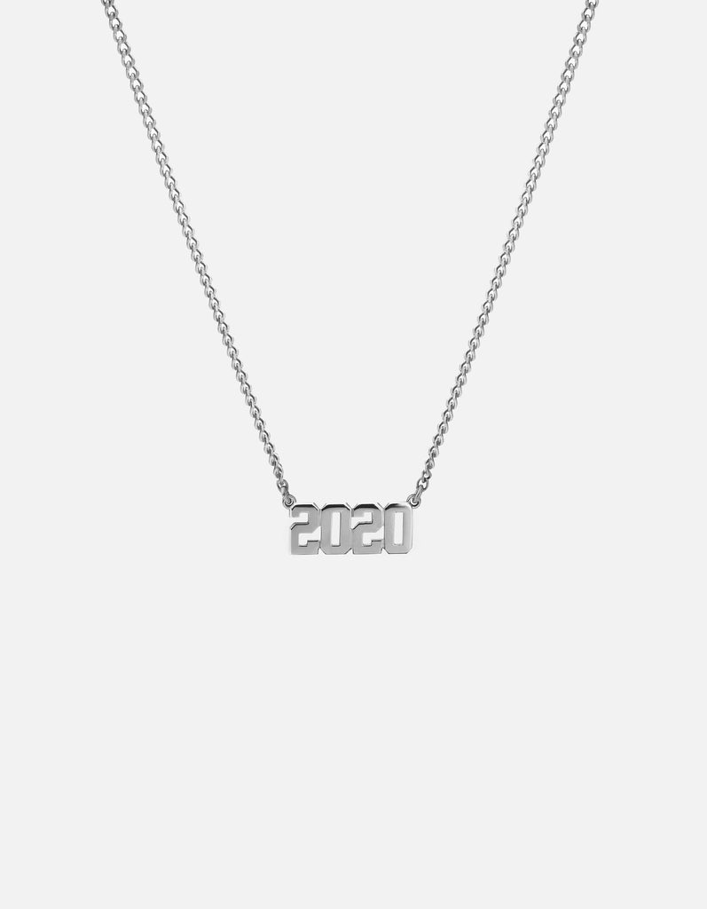 Miansai - Numero Necklace, Sterling Silver