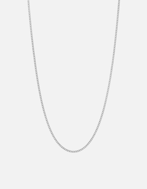 Miansai - 2mm Cuban Chain Necklace, Sterling Silver
