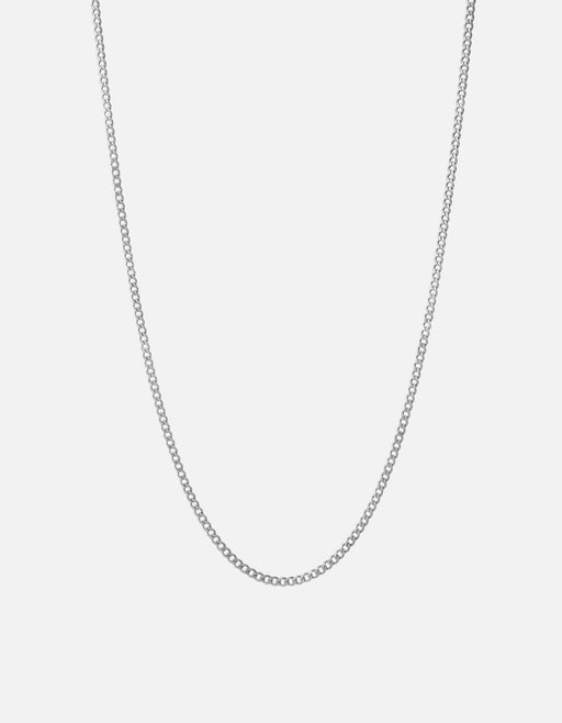 Miansai - 3mm Cuban Chain Necklace, Sterling Silver