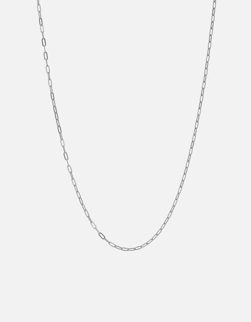 2.5mm Cable Chain Necklace, Sterling Silver | Men's Necklaces | Miansai