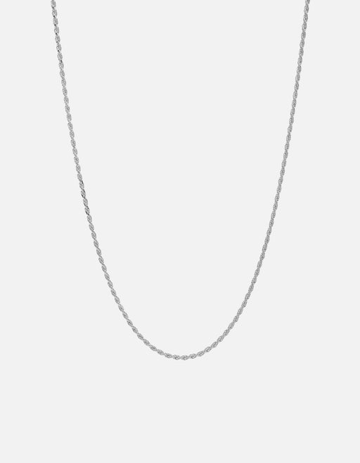 Rope Chain Necklace, Sterling Silver - Miansai