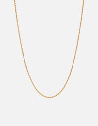 Rope Chain Necklace, Gold Vermeil - Miansai
