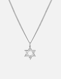 Star of David I Necklace, Sterling Silver - Miansai