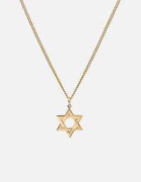 Star of David I Necklace, Gold Vermeil - Miansai