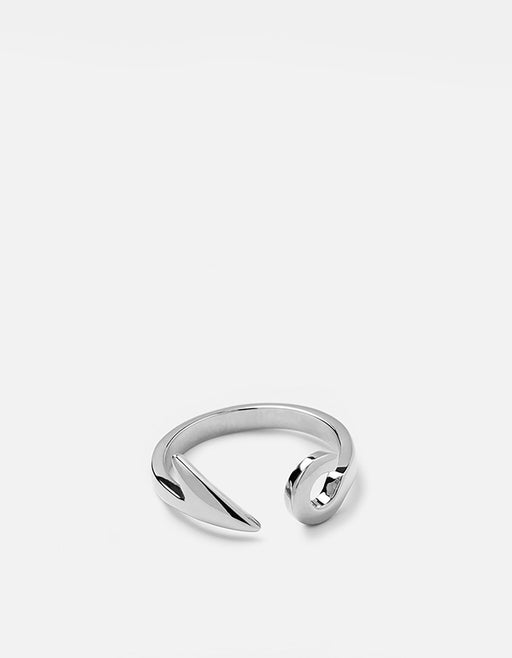 Miansai - Hook Ring, Sterling Silver