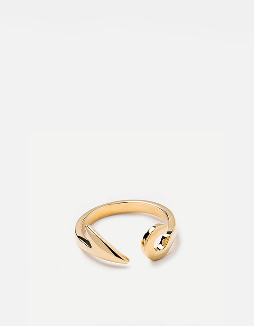 Miansai - Hook Ring, Gold Plated