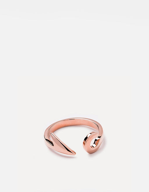 Miansai - Hook Ring, Rose Plated