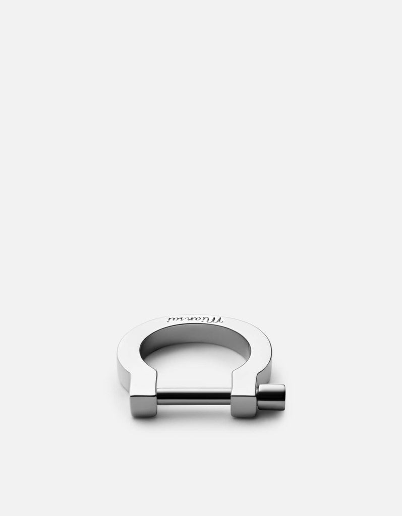 Miansai - Modern Screw Cuff Ring, Sterling Silver
