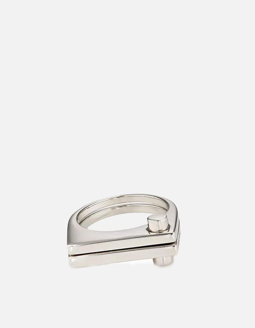 Miansai - Modern Flat Ring, Sterling Silver