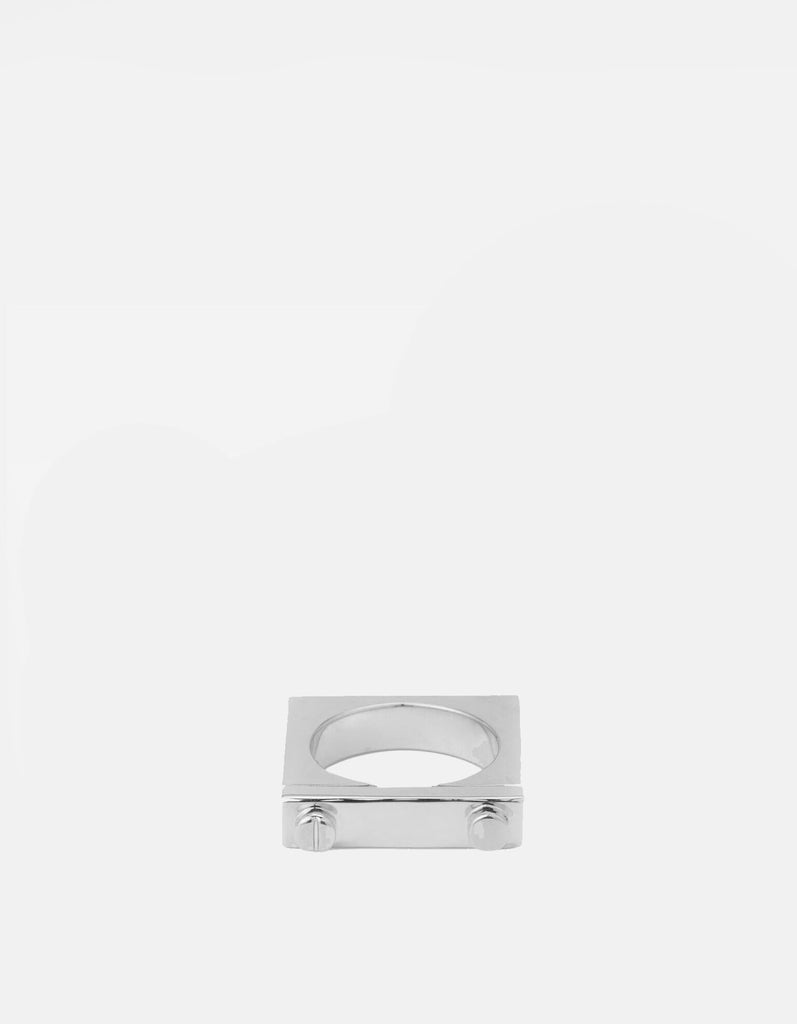 Miansai - Squared Ring, Sterling Silver