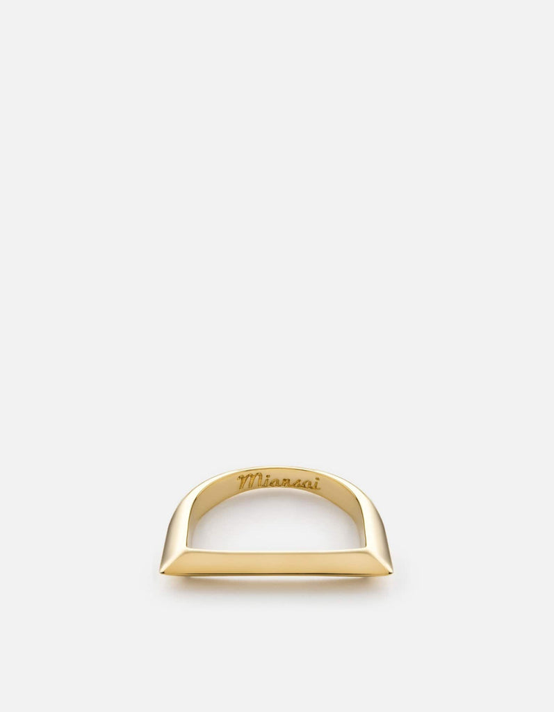 Miansai - Bar Ring, Gold