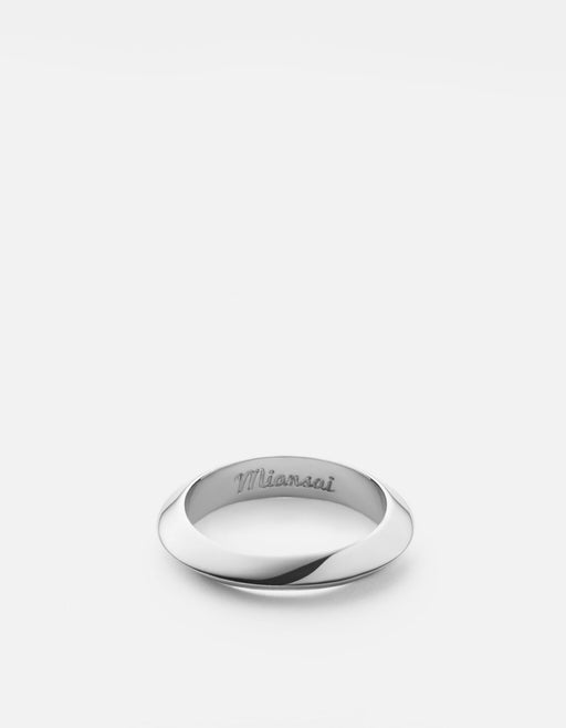 Miansai - Cylinder Ring, Sterling Silver