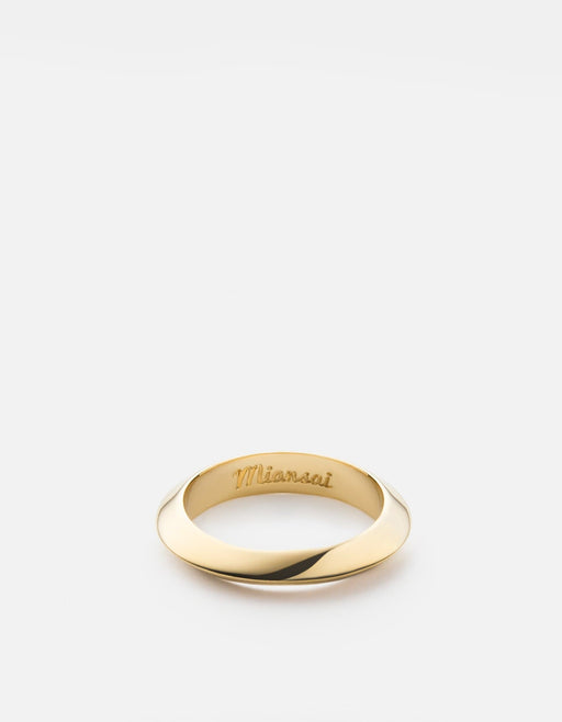 Miansai - Cylinder Ring, Gold