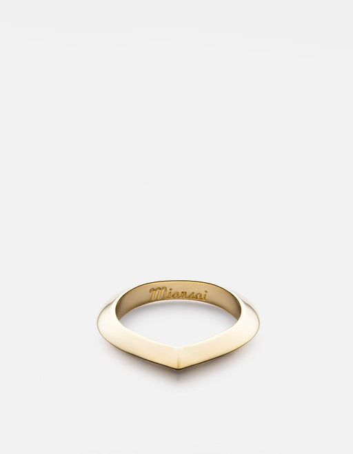 Miansai - Angular Ring, Gold