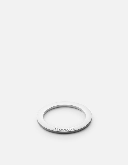 Miansai - Washer Ring, Sterling Silver